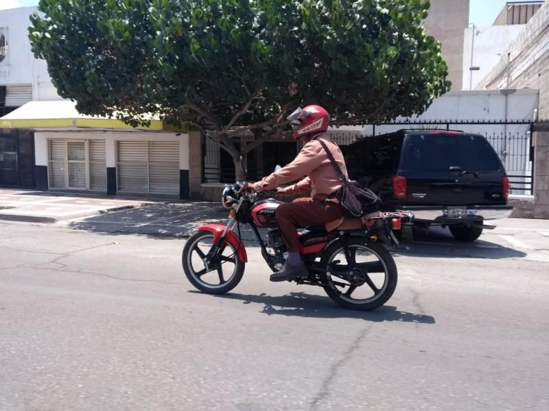Se incrementan los accidentes en motociclistas