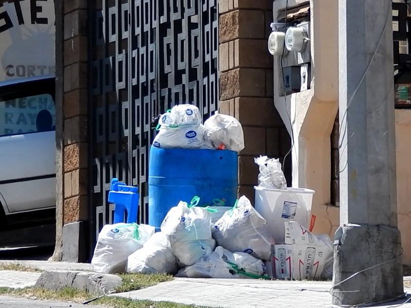 Se incrementó la basura generada por nogalenses en días santos