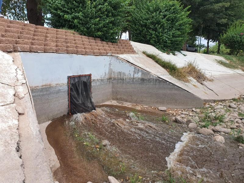 Se inicia a rellenar la Laguna del del Náinari