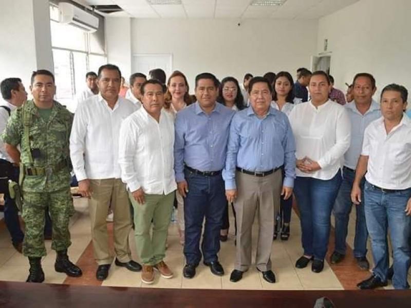 Se instala consejo de seguridad en Cintalapa