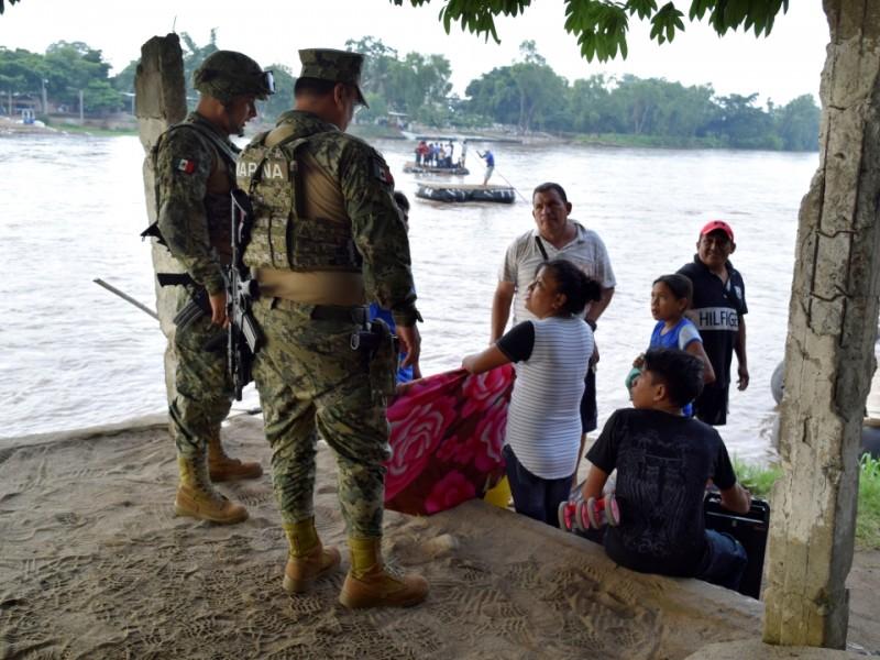 Se intensifican operativos en el Suchiate