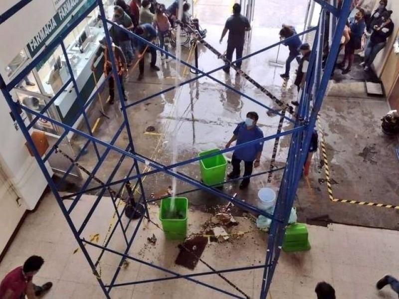 Se inunda clínica del IMSS en Amalucan