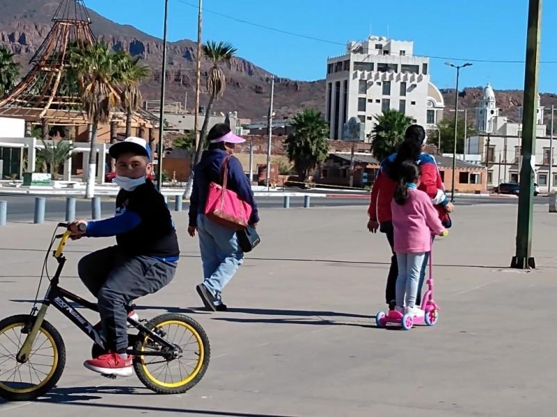 Se lleva a cabo la primera jornada de ciclovía.
