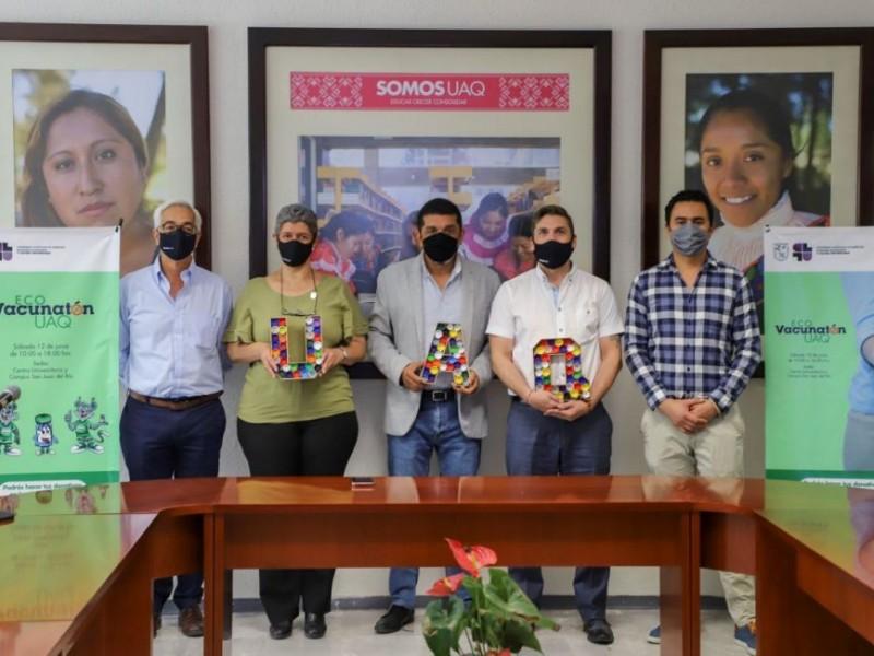 Se llevó a cabo el Eco Vacunatón de la UAQ