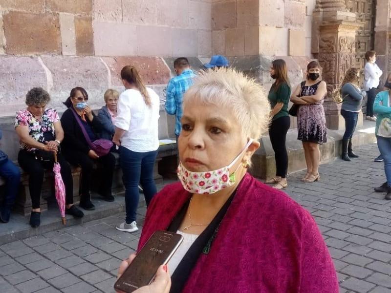 Comerciantes de Zacatecas capital afectados por contingencia