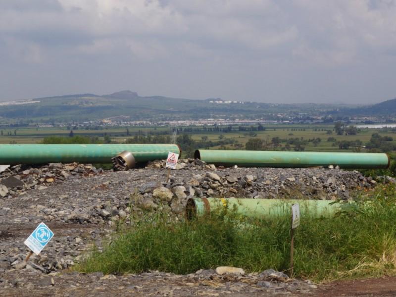 Se manifiestan contra termoeléctrica y gasoducto en Juanacatlán