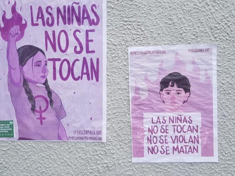 Se manifiestan para exigir alto a violencia contra niñas