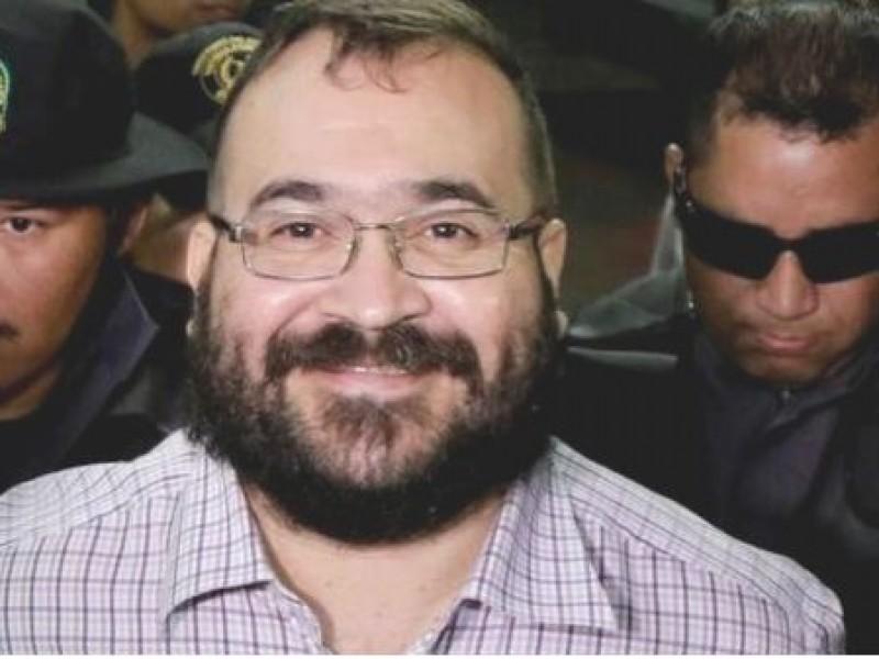 Se mantiene Javier Duarte en prisión