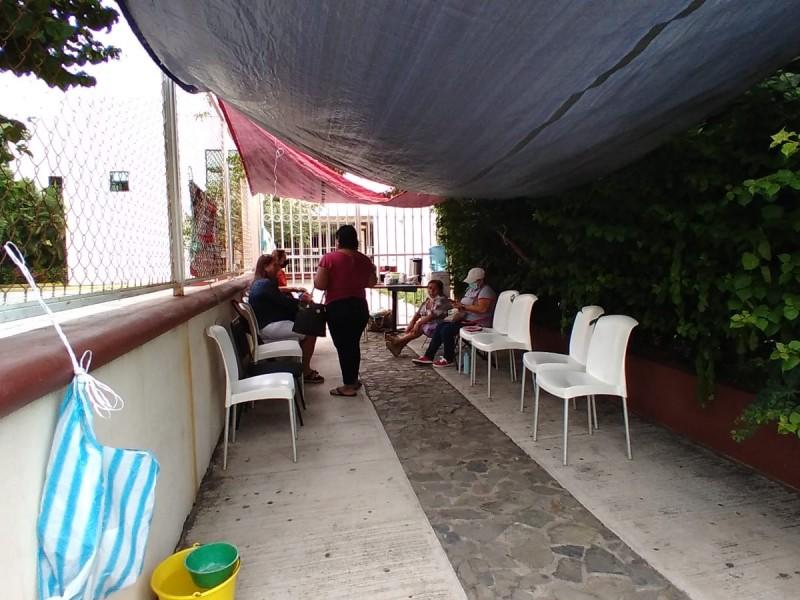 Se mantiene tomado el Palacio de Justicia en Zihuatanejo