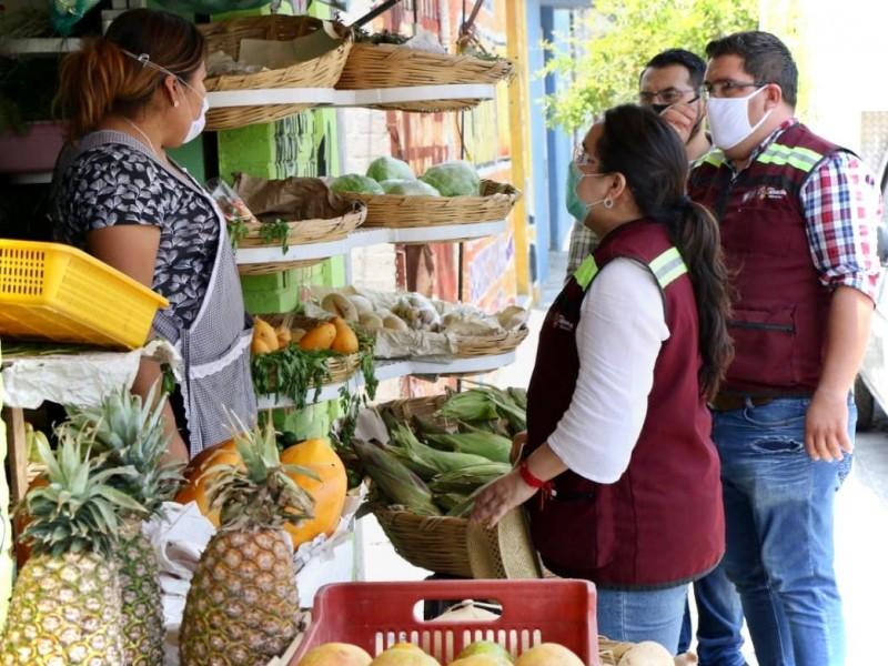 Se niegan ambulantes salir del centro de Tehuacán