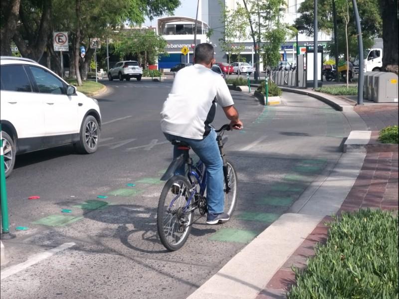 Se oponen vecinos a ciclovía de Av. Guadalupe