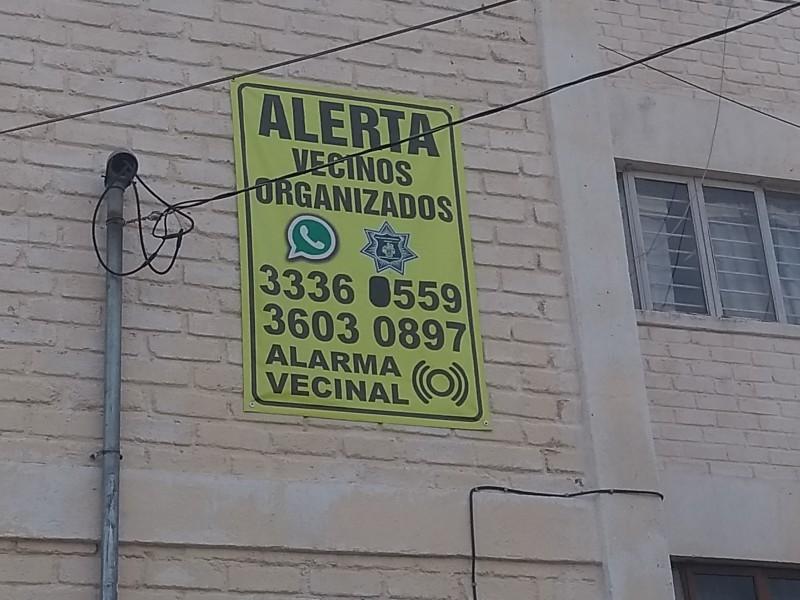 Se organizan contra ladrones en Lomas de Independencia