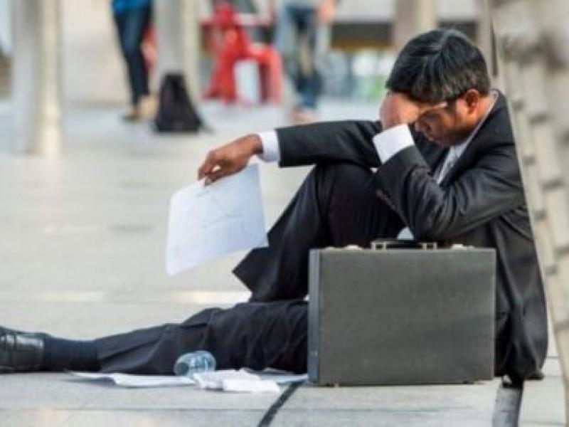 Se pierden 382 mil empleos; inversión desplomada