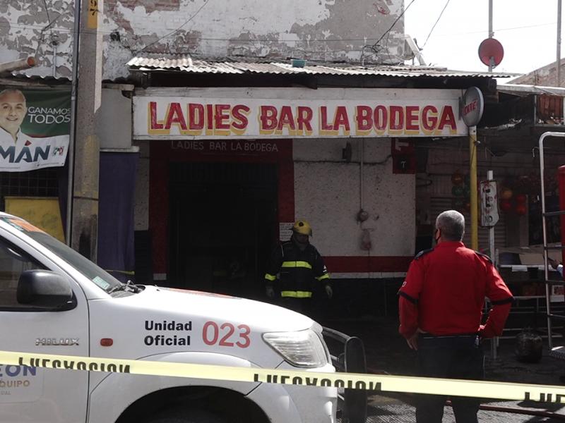 Se prendió bar en sector Alianza de Torreón