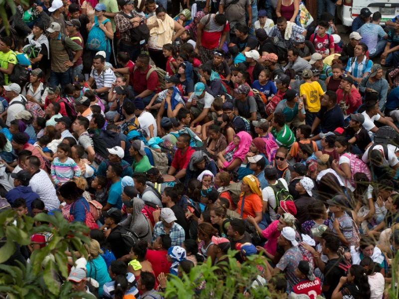 Se prepara nueva caravana migrante hondureña, pasará por México