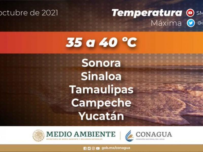 Se presentan altas temperaturas en Sonora