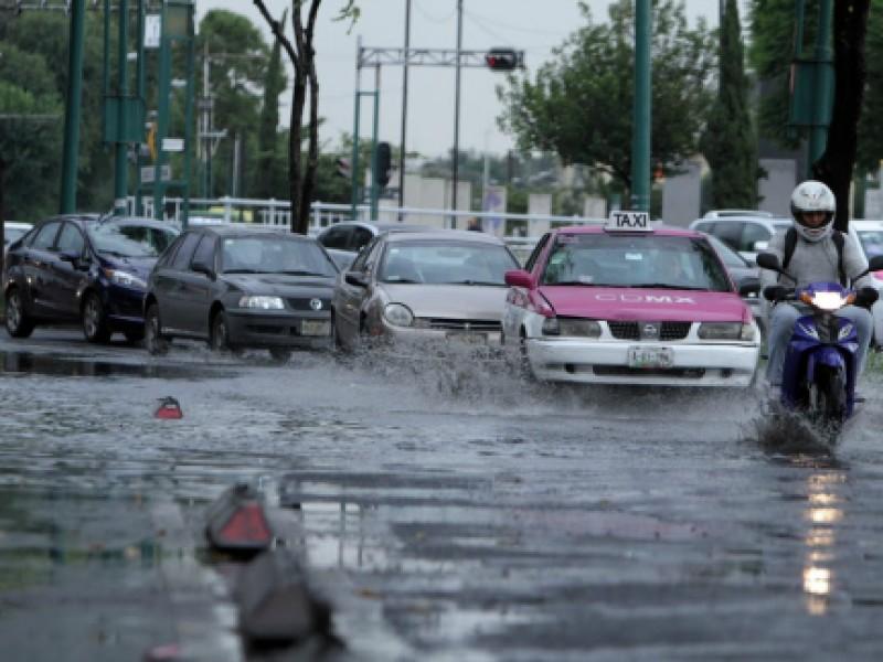 Se prevé lluvia y granizo en la CDMX