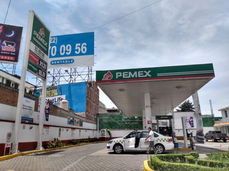 Se queda sin estímulo fiscal la gasolina PREMIUM