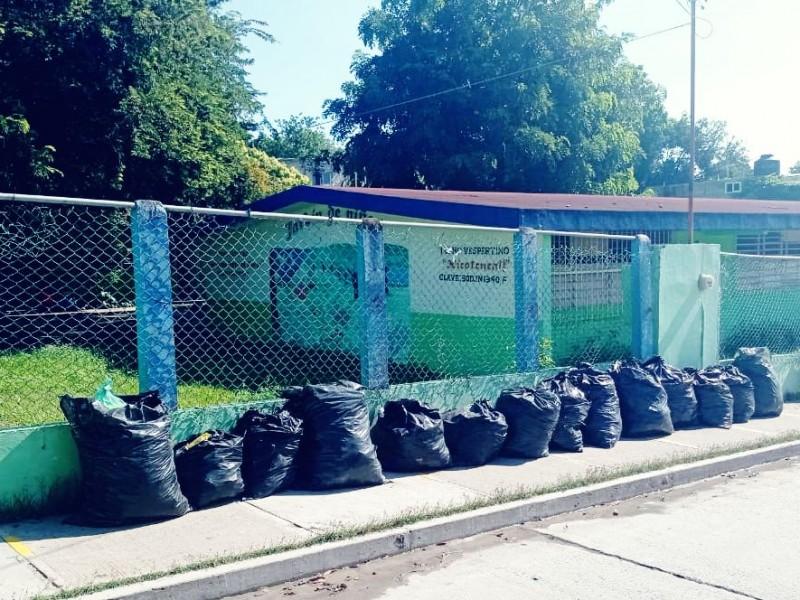 Se quejan de servicio de Limpia Pública en Tuxpan