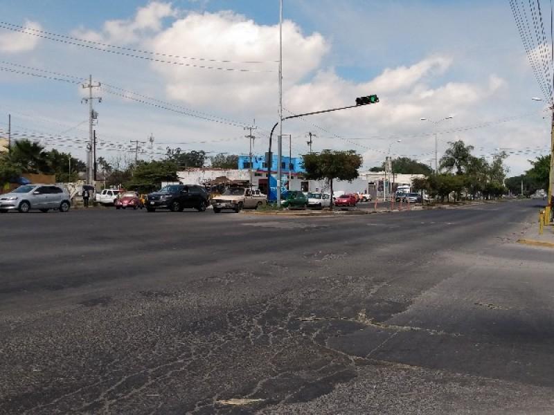 Se reabrió la circulación en avenida Insurgentes