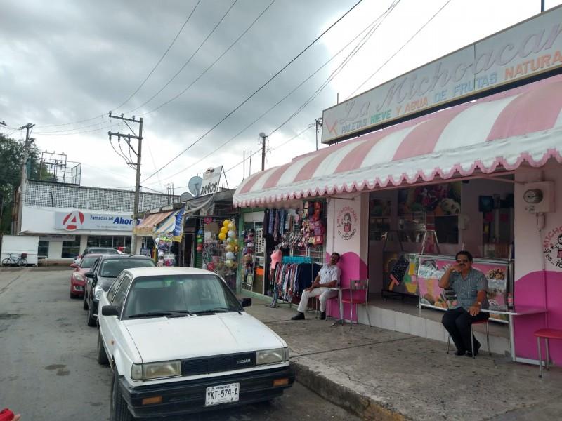 Se reactiva comercio en Cerro Azul
