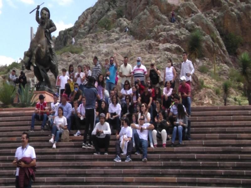 Se reactiva turismo en La Bufa