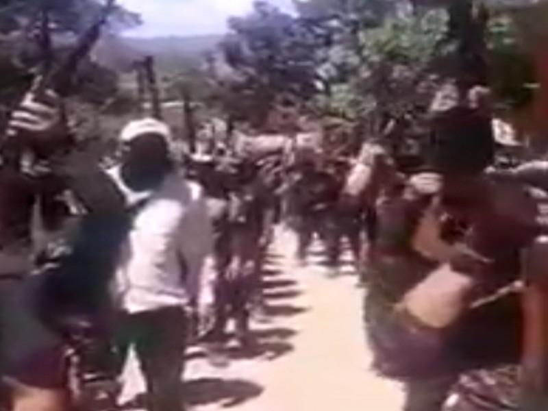 Se reagrupan autodefensas El Machete en Pantelhó