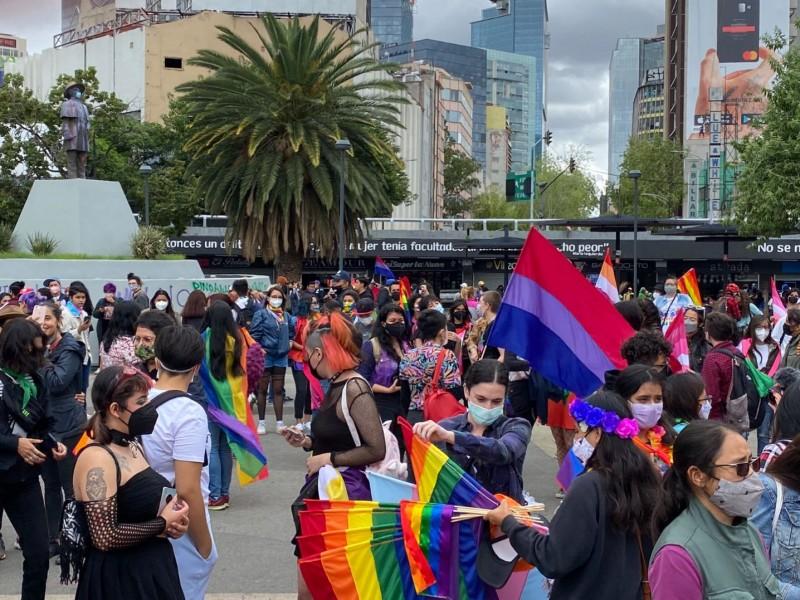 """Se realiza manifestación """"Lencha"""" en Ciudad de México"""
