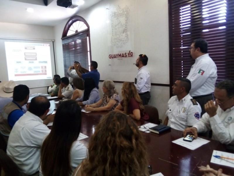 Se realiza reunión de PC en Guaymas