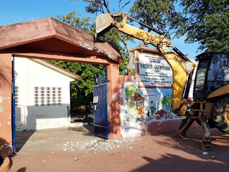 Se reconstruyeron 6 escuelas después del sismo del 19s