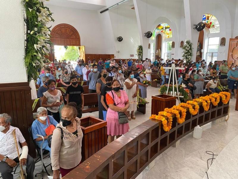 Se recupera afluencia en Santuario del Padre Jesús de Petatlán