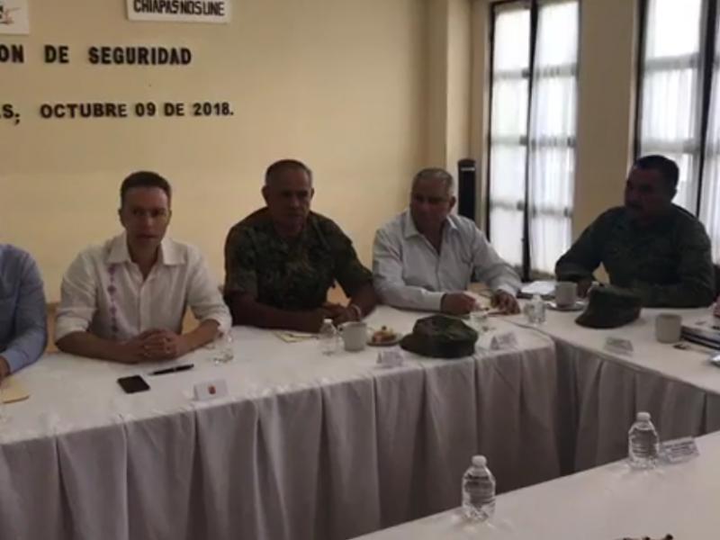 Se refuerza la seguridad en Chiapas