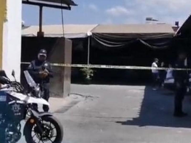 Se registra balacera en el centro de la capital Oaxaqueña