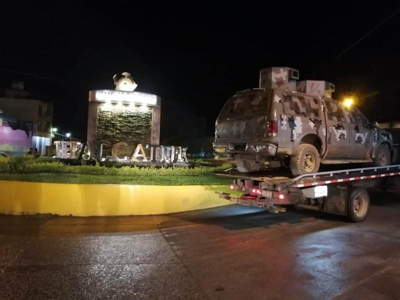 Se registra enfrentamiento entre pobladores de Tepalcatepec y CJNG