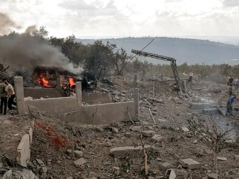 Se registra explosión en bodega de armas en el Líbano