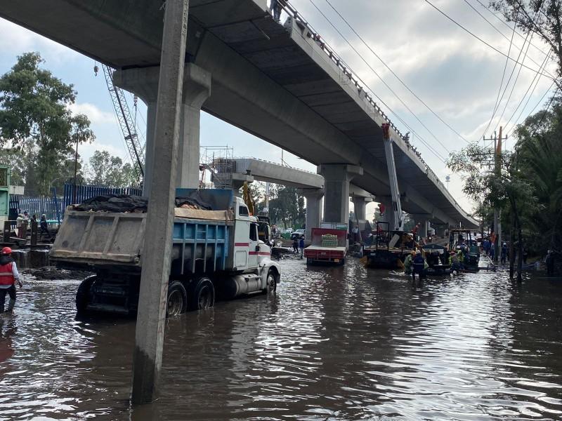 Se registra fuga de agua en Periférico