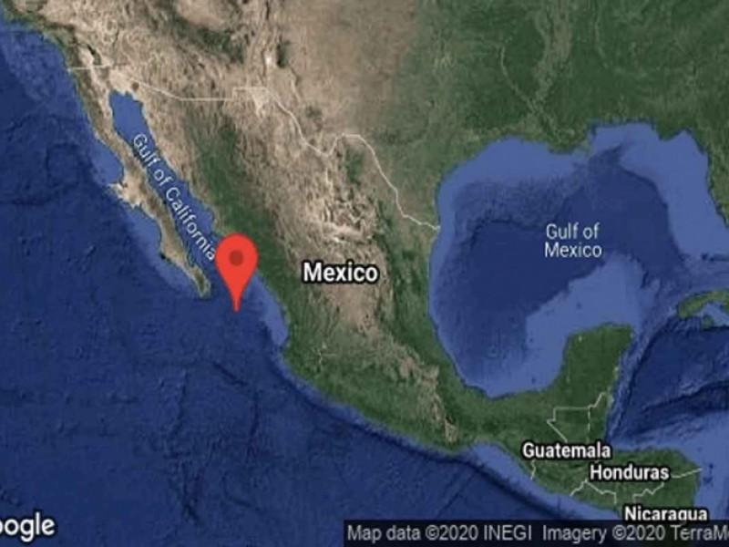 Se registra sismo de 6.1 grados cerca de Baja California