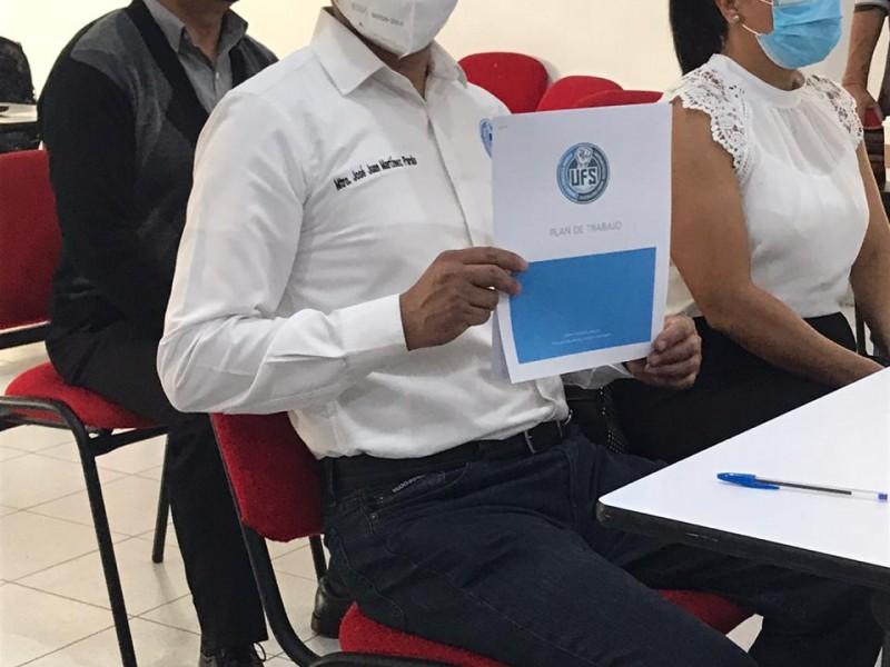 Se registra tercera plantilla ante Comité Ejecutivo SPAUAZ