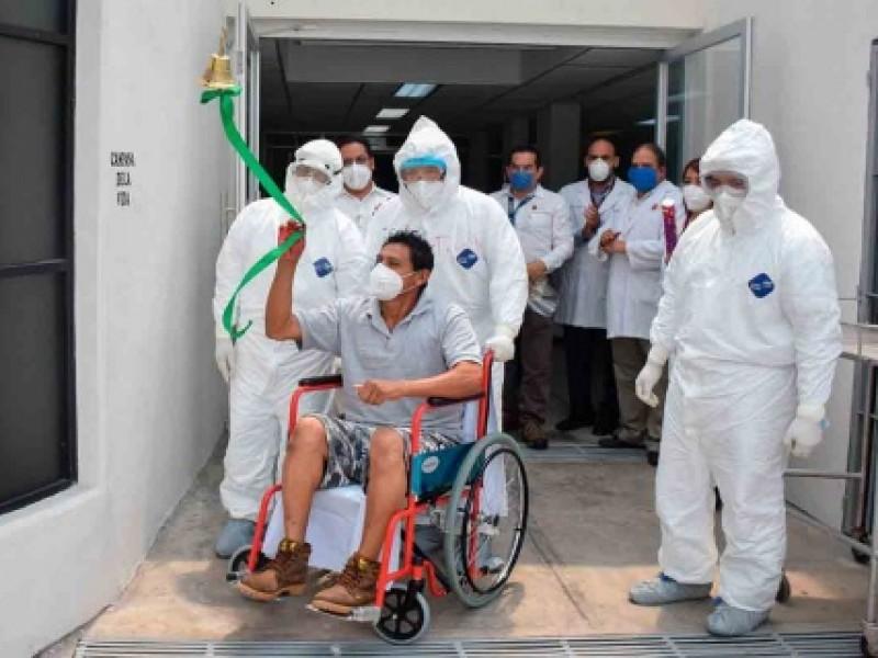 Se registran 75 personas recuperadas de COVID-19
