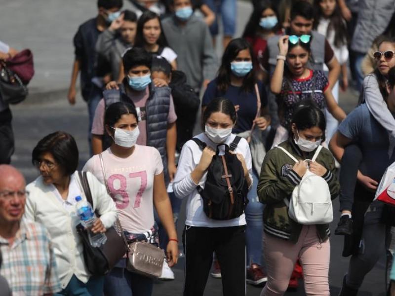 Se registran 784 contagios durante fin de semana en Puebla