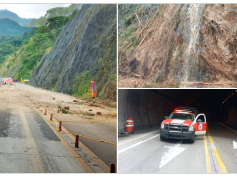 Se registran derrumbes, caída de árboles e inundaciones en Puebla