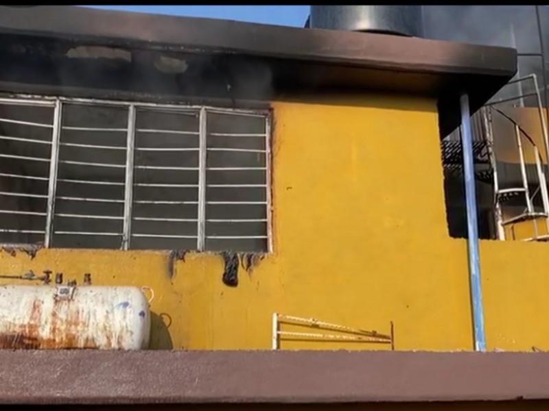 Se registró explosión por gas LP en Atizapán