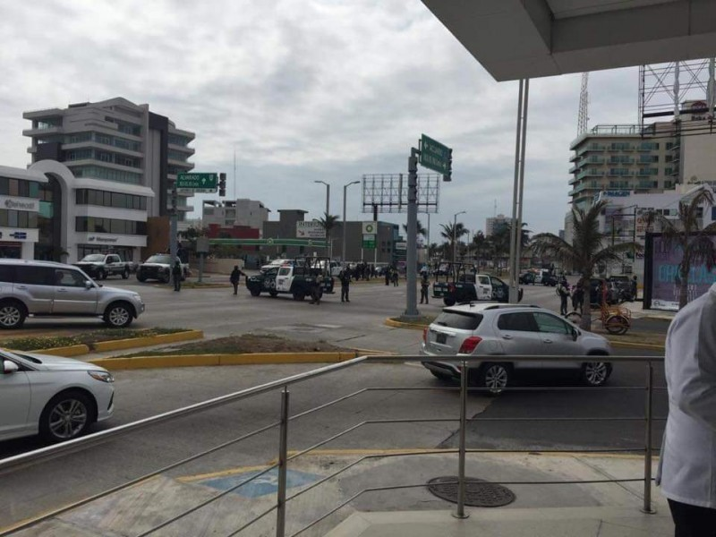 Se registró fuerte operativo en Ruiz Cortines