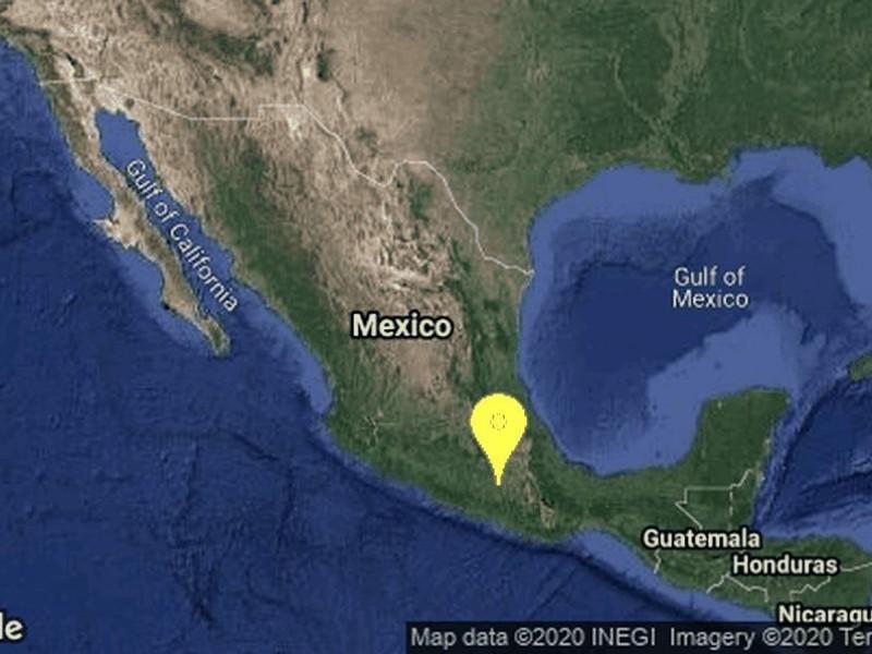 Se registró sismo de 4.4 grados en Puebla
