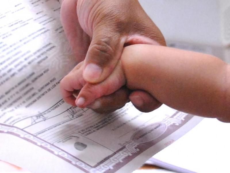 Se regulariza el registro de los recién nacidos