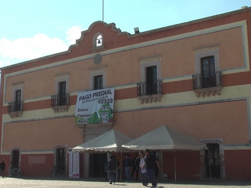Se reincorpora la mayoría de trabajadores del Ayuntamiento de Fresnillo