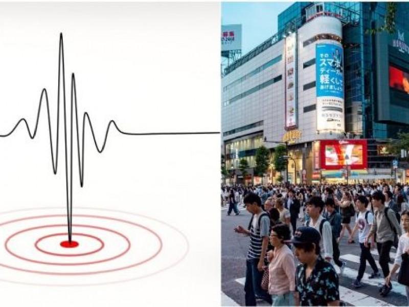 Se reporta sismo de 6.1 grados al noroeste de Japón