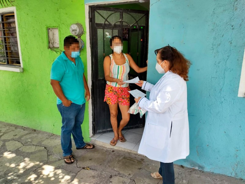 Se reportan 72 casos nuevos de COVID-19