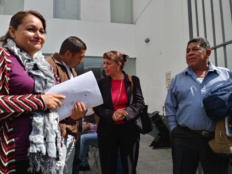 Se reservan derecho a declarar maestros en comparecencia