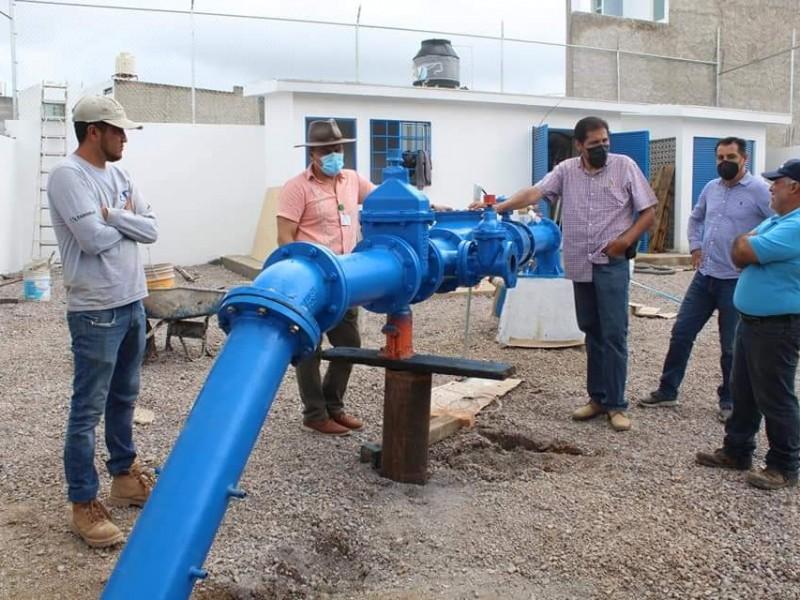 Se restablece servicio de agua en 12 zonas de Tepic